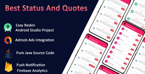 quotes Creator, offline quotes app & Status App - CodeCanyon Item for Sale