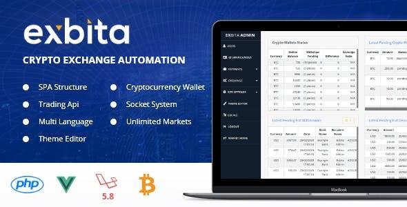 Exbita - Crypto Currency Exchange Platform