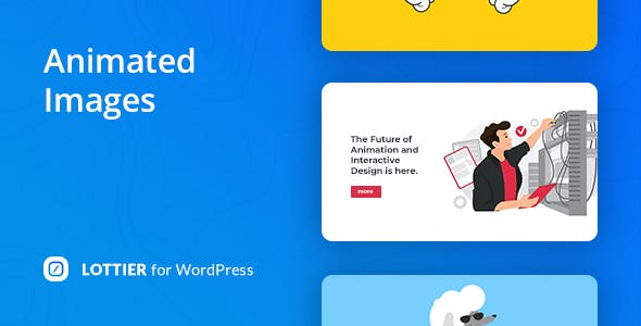 Lottier – Lottie Animated Images for WordPress Editor