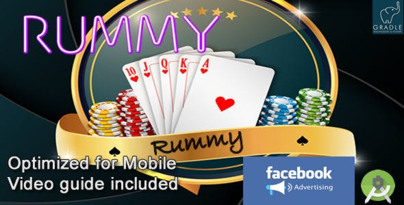 RUMMY (Facebook + Admob + Android Studio)
