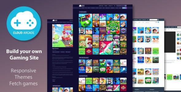 CloudArcade - HTML5 / Web Game Portal CMS
