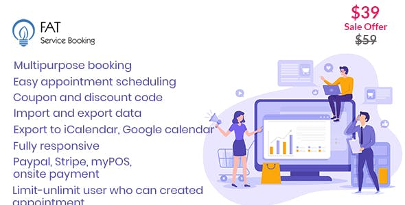 Fat Services Booking - Automated Booking and Online Scheduling