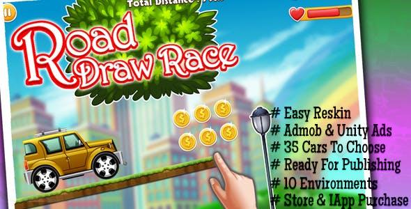 draw road - Admob & Unity Ads Integrated