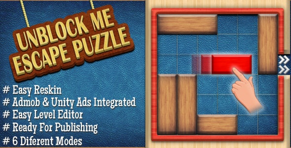 UnBlock Red Wood - Admob & Unity Ads Integrated