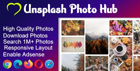 PhotoHub ( Image Search Engine )