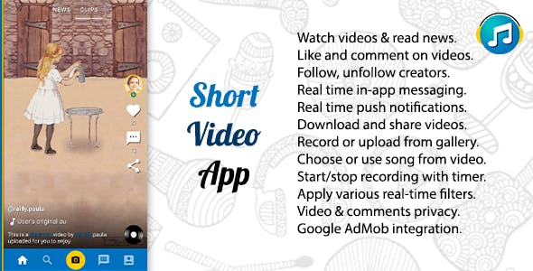 TakTak - Short Video Platform App