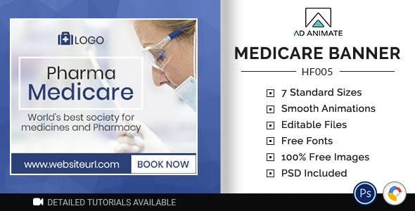 Health & Fitness   Medicare Banner (HF005)