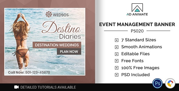 Professional Services | Event Management Banner (PS020) - CodeCanyon Item for Sale