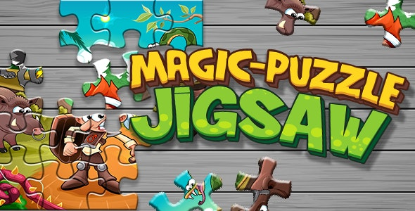 Magic Puzzle Jigsaw - CodeCanyon Item for Sale