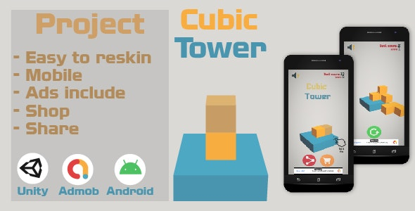 Cubic Tower - CodeCanyon Item for Sale