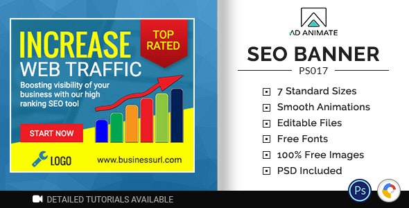 Professional Services | SEO Ad Banner (PS017) - CodeCanyon Item for Sale