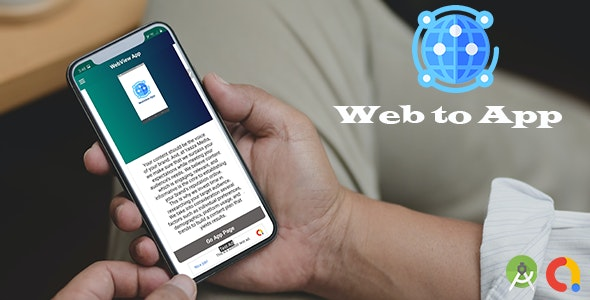 Web view with Animation (Android App) - CodeCanyon Item for Sale