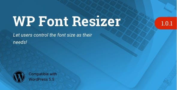 WP Font Resizer | Text Resize WordPress Plugin
