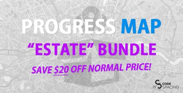 Progress Map, Estate Bundle - CodeCanyon Item for Sale