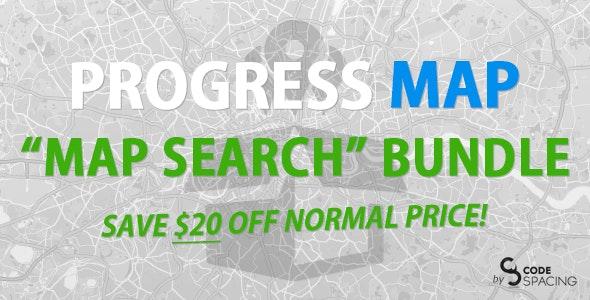Progress Map, Search Bundle - CodeCanyon Item for Sale