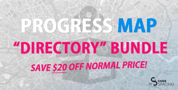 Progress Map, Directory Bundle - CodeCanyon Item for Sale