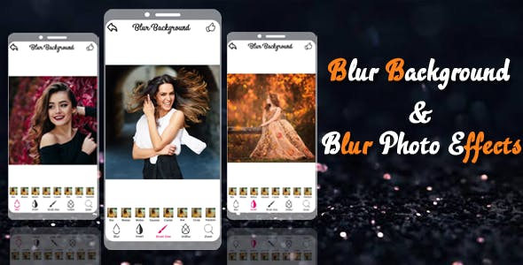 Blur background With 7 Blur Effects & Photo editor new version 2020