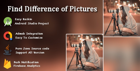 Find The Difference - Spot It Game 100+ rounds - CodeCanyon Item for Sale