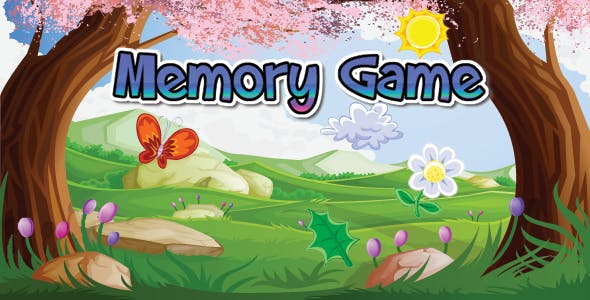 Classic Memory Game For Children