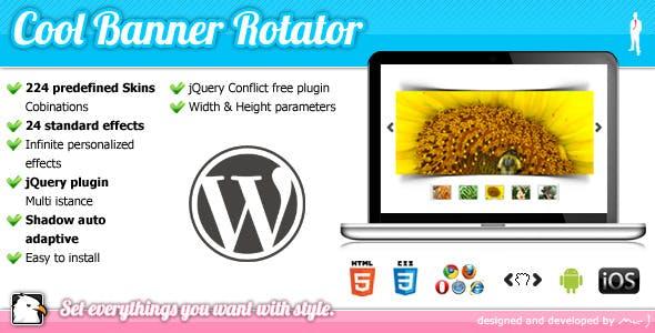 WordPress Cool Banner Rotator jQuery Plugin