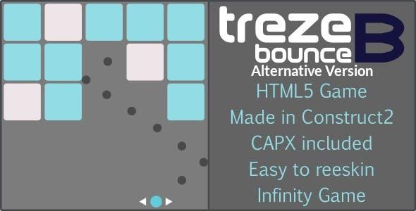 trezeB-bounce (alternative) - HTML5 Casual game
