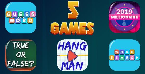 HTML5 GAMES BUNDLE №7 (CAPX)