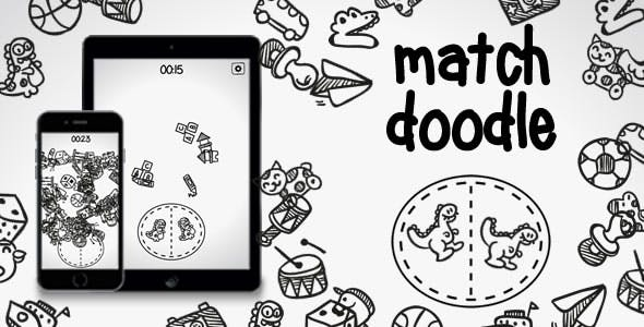 Match Doodle - HTML5 Game