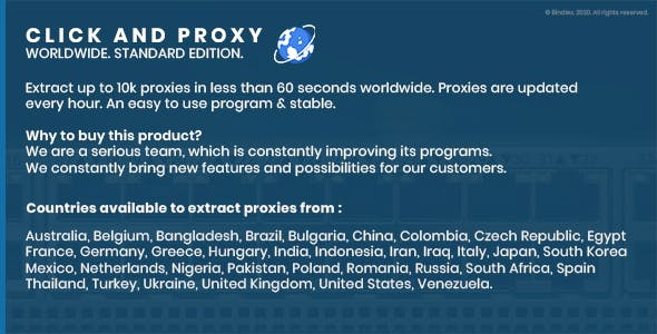 Click and Proxy - WorldWide