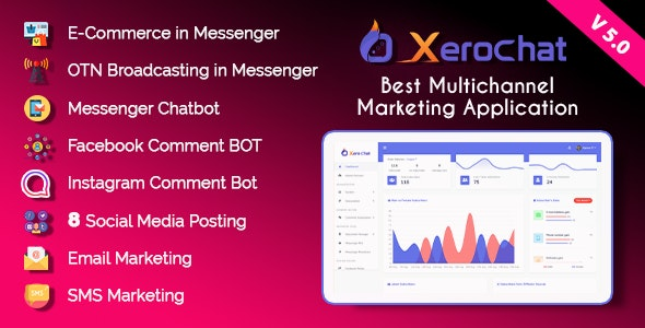 XeroChat - Best Multichannel Marketing Application (SaaS Platform) - CodeCanyon Item for Sale