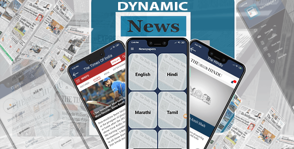 All In One Dynamic News Papers - CodeCanyon Item for Sale