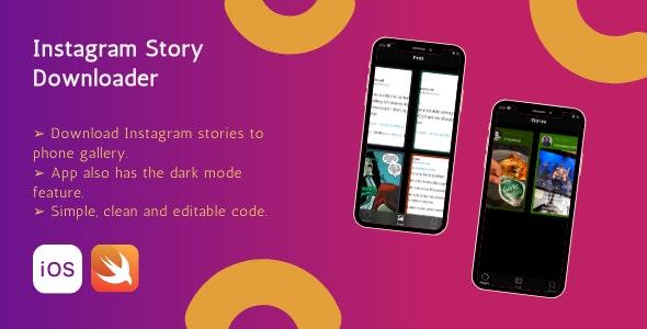 Stories downloader for instagram - CodeCanyon Item for Sale