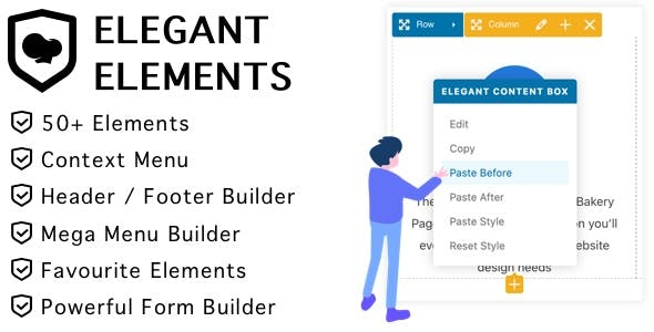 Elegant Elements for WPBakery Page Builder
