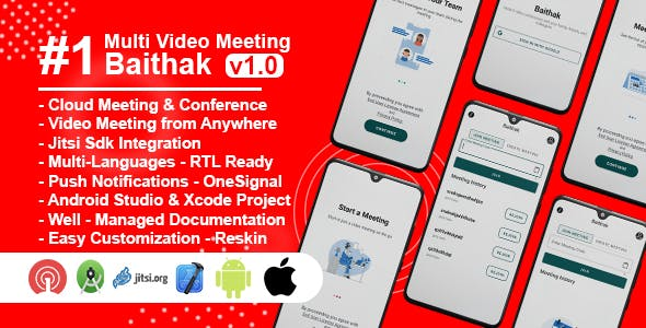 Baithak - Video Meeting & Conference