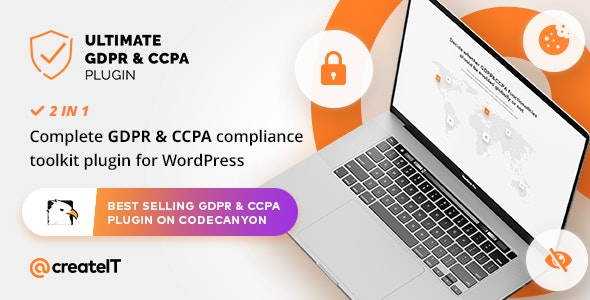 Ultimate GDPR & CCPA Compliance Toolkit for WordPress - CodeCanyon Item for Sale