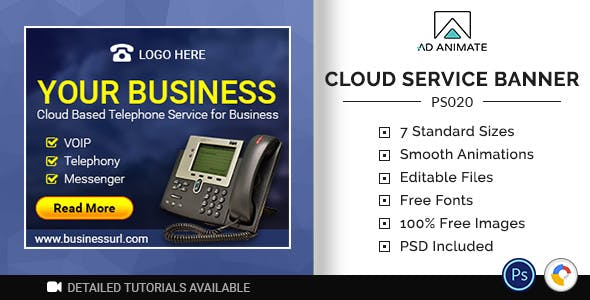 Professional Services | Cloud Service Banner (PS021