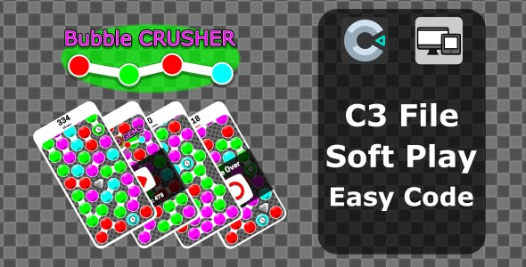 Bubble CRUSHER HTML Game