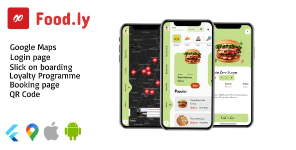 Food.ly - Restaurant App Design