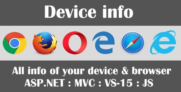 Device Info - Web Browser Security Testing Tool
