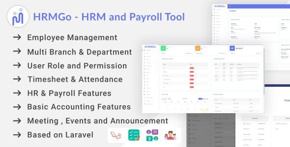 HRMGo - HRM and Payroll Tool