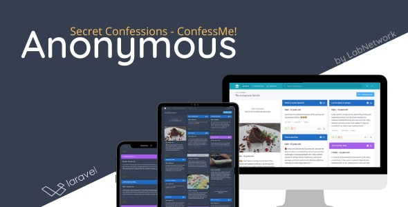 Anonymous - Secret Confessions - CodeCanyon Item for Sale