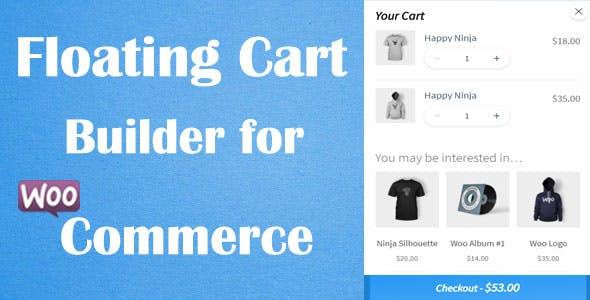 Floating Cart Builder Pro for WooCommerce