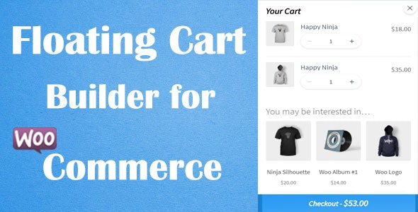 Floating Cart Builder Pro for WooCommerce - CodeCanyon Item for Sale