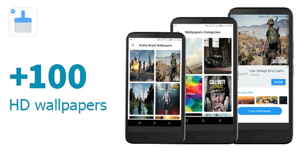 LITE WALLPAPERS - NO DATABASE REQUIRED  - NATIVE ADMOB ADS - +100 DEMO WALLPAPERS INCLUDED