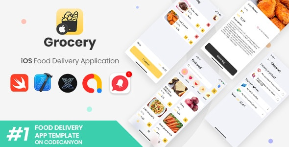 Grocery   iOS Single Food Delivery Store Application [XServer] - CodeCanyon Item for Sale