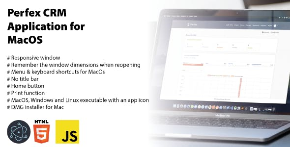 MNS - Perfex CRM Application para MacOS, Windows, Linux