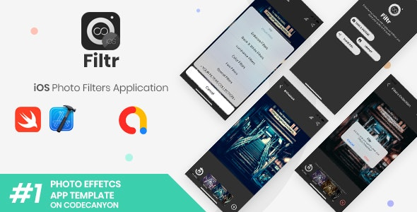 Filtr   iOS Photo Filters and Effects Application - CodeCanyon Item for Sale