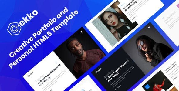 Cekko - Creative HTML5 Template