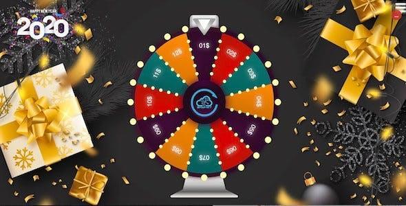 Lucky Wheel 12 - HTML5 Game