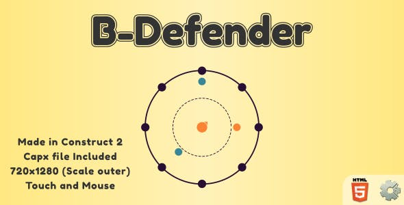 B-Defender - HTML5 Casual Game