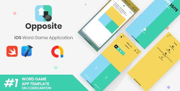 Opposite | iOS Words Puzzle Game Application